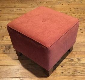 Contemporary Modern Upholstered Ottoman / Stool
