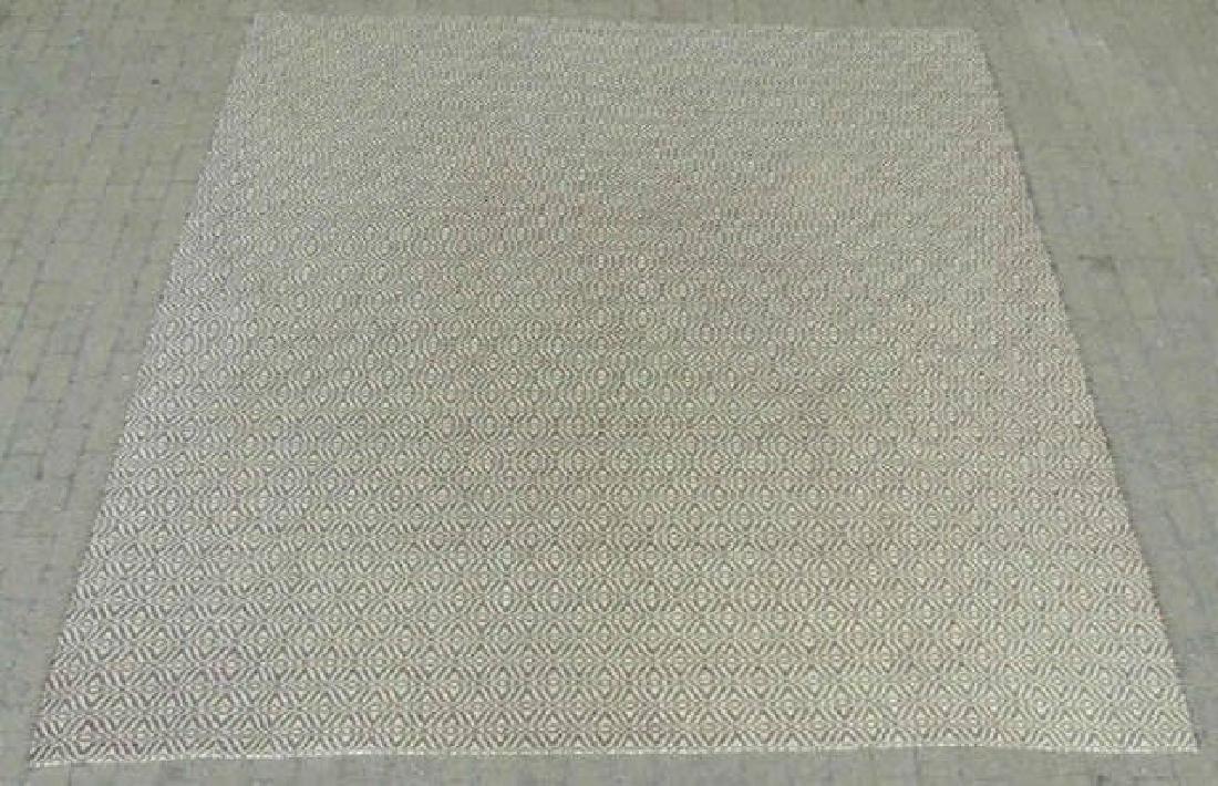 Custom Contemporary Carpet w Bold Pattern