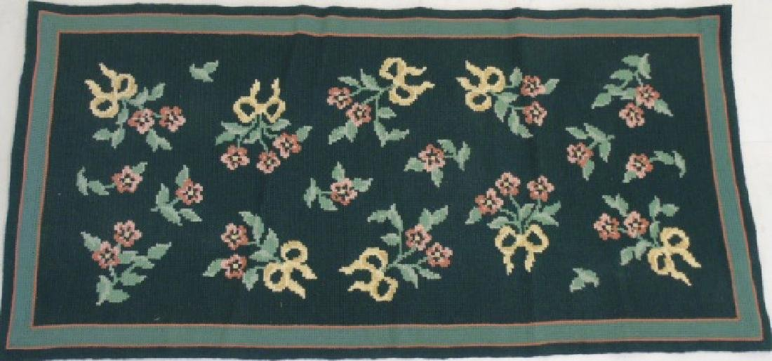 Contemporary Portuguese Needlepoint Carpet Runner