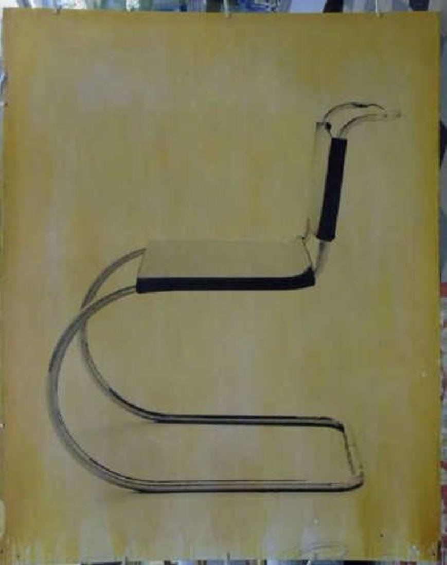 Ford Beckman - Silkscreen of MCM Chair on Paper