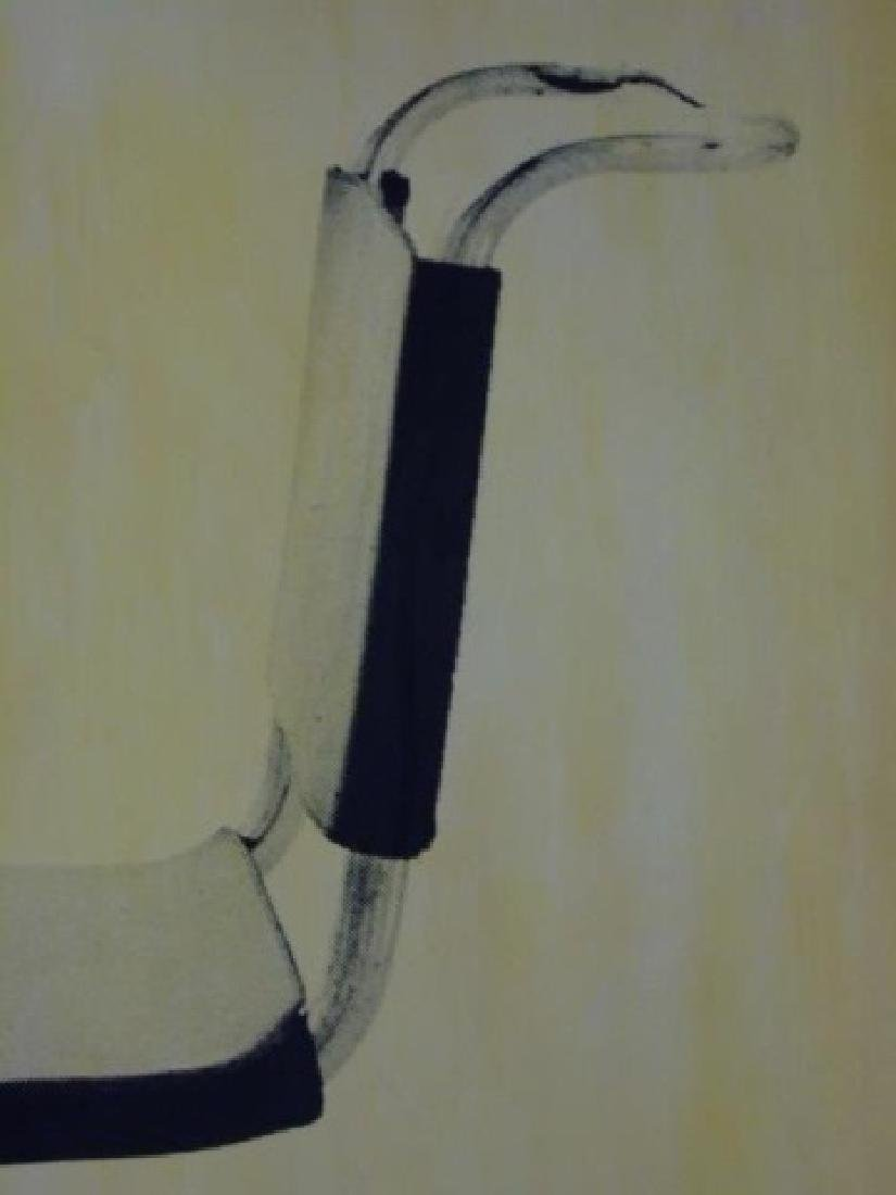 Ford Beckman - Silkscreen of MCM Chair on Paper - 3