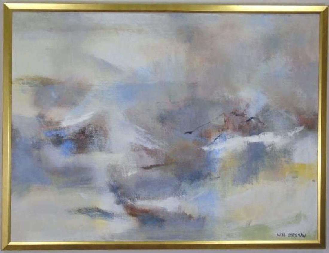 Mayo Sorgman Large Contemporary Abstract Painting