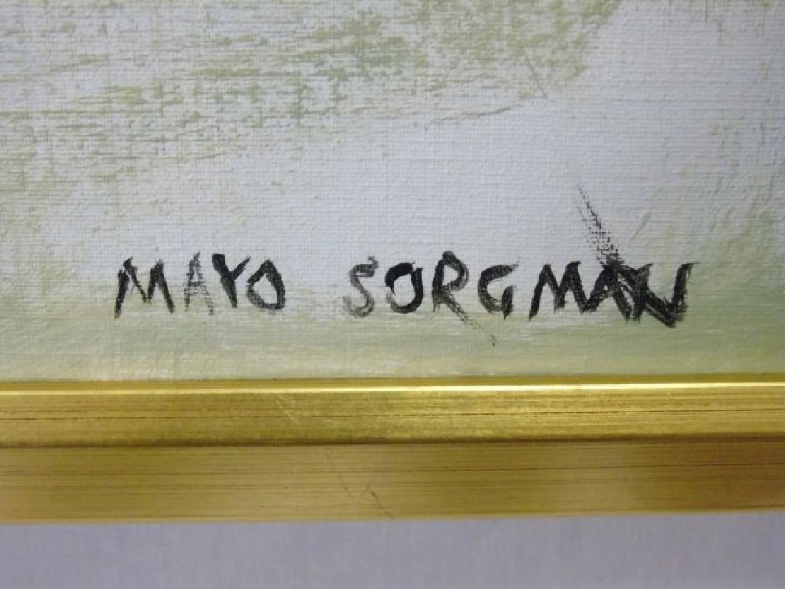 Mayo Sorgman Large Contemporary Abstract Painting - 2