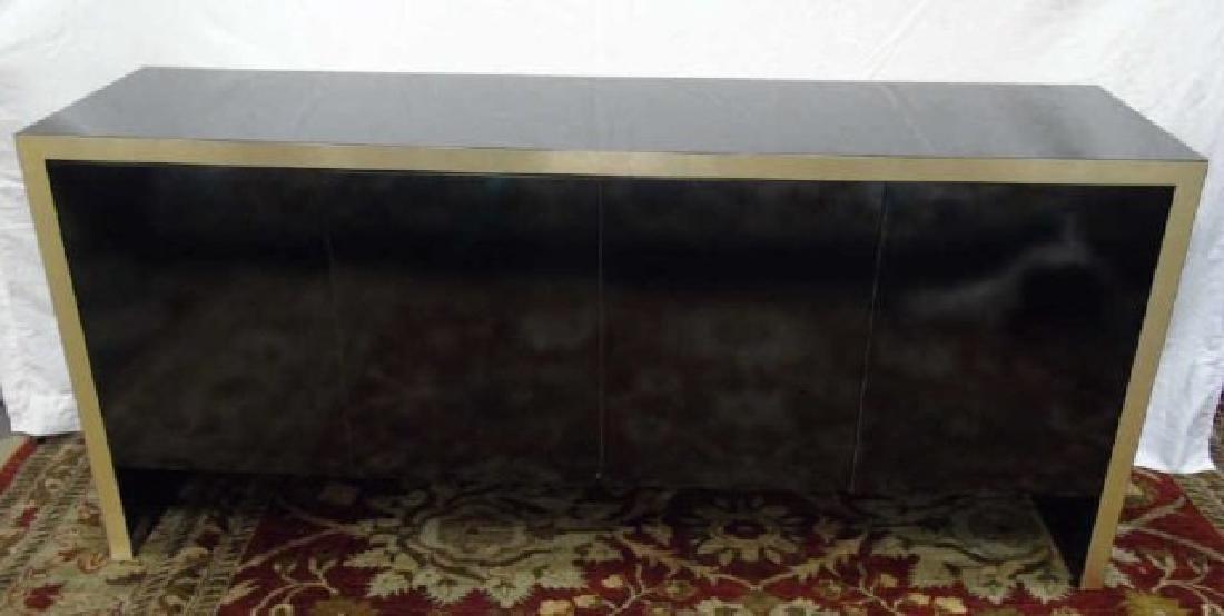 Mid Century Modern Knoll High Shine Console Buffet