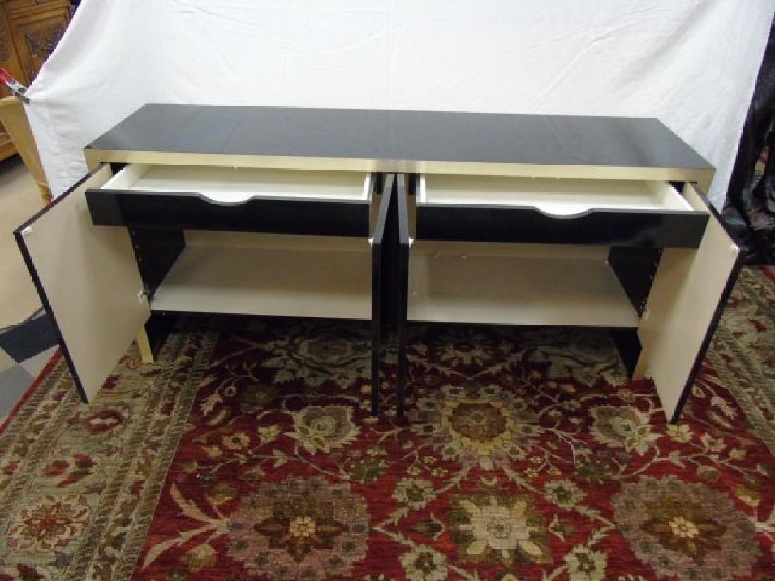 Mid Century Modern Knoll High Shine Console Buffet - 2