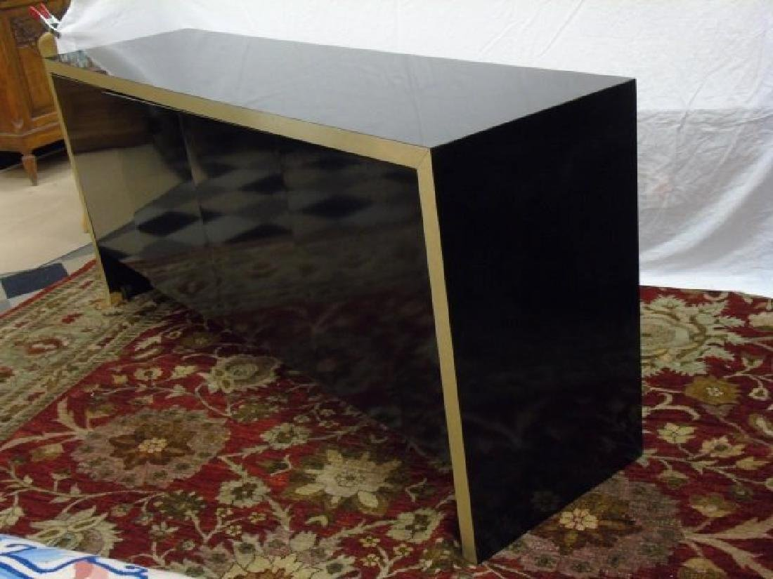 Mid Century Modern Knoll High Shine Console Buffet - 3