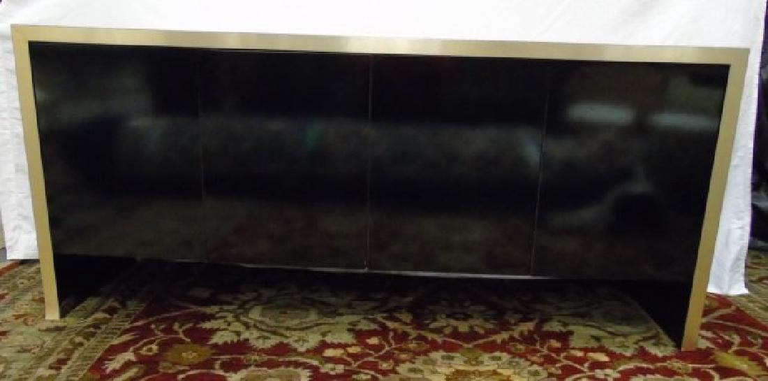Mid Century Modern Knoll High Shine Console Buffet - 4