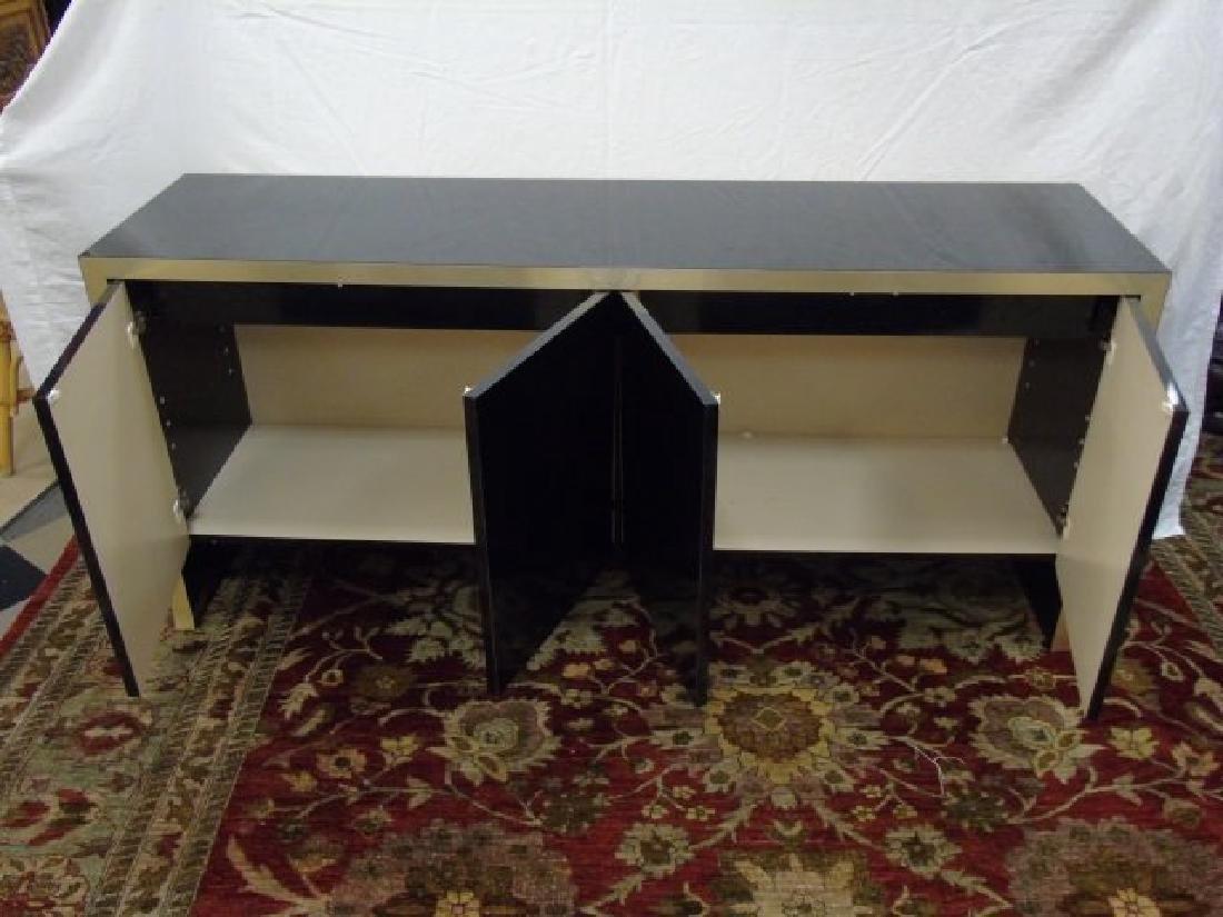 Mid Century Modern Knoll High Shine Console Buffet - 5