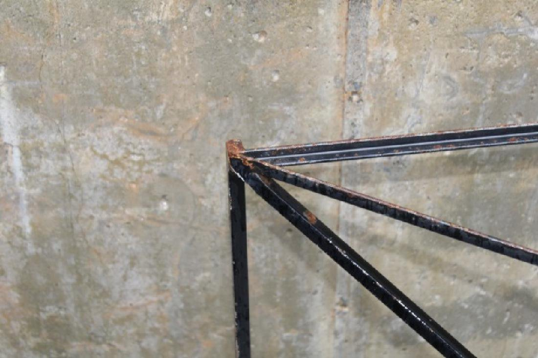 Wrought Iron Triangle Outdoor / Patio Table Base - 6