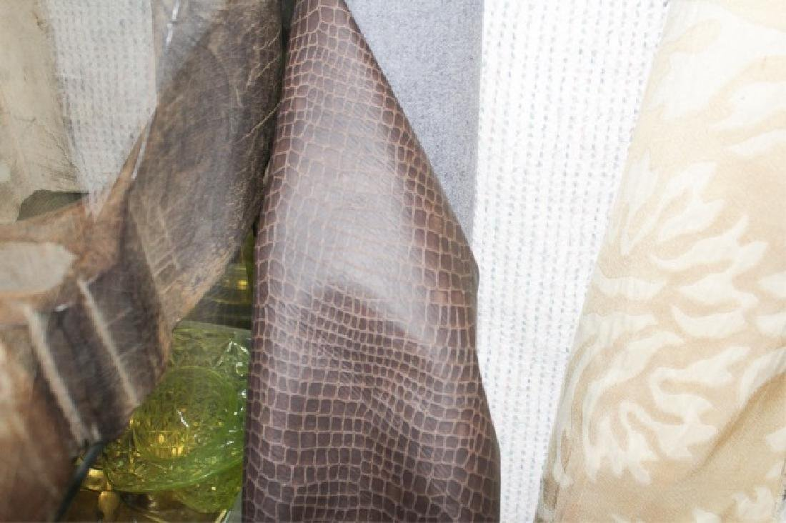 Large Collection of Designer Fabric Rolls - 7