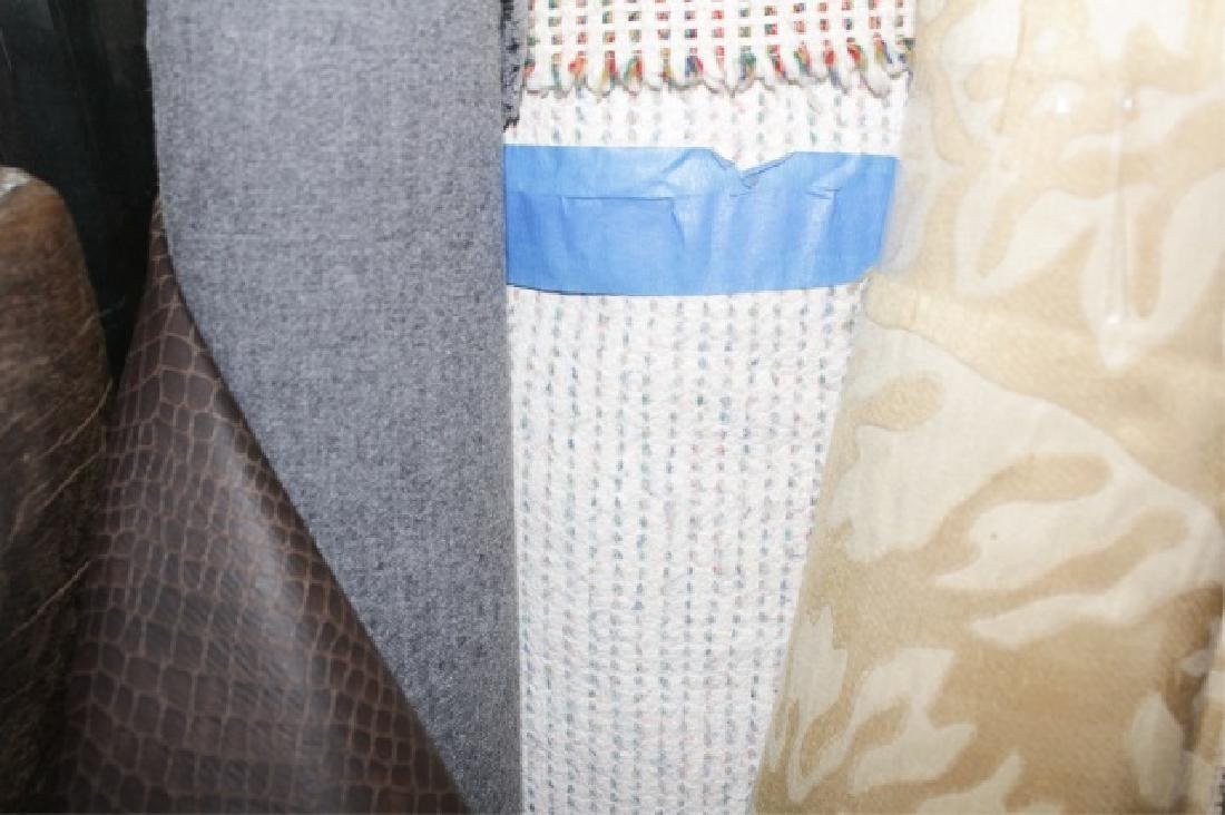 Large Collection of Designer Fabric Rolls - 8
