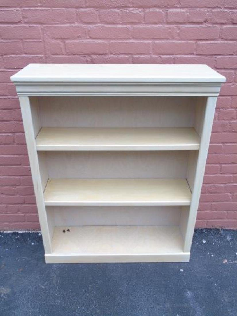 Contemporary Traditional Bookcase in Pickled Wood