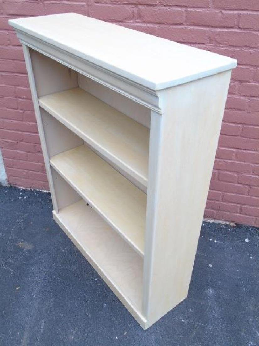 Contemporary Traditional Bookcase in Pickled Wood - 2
