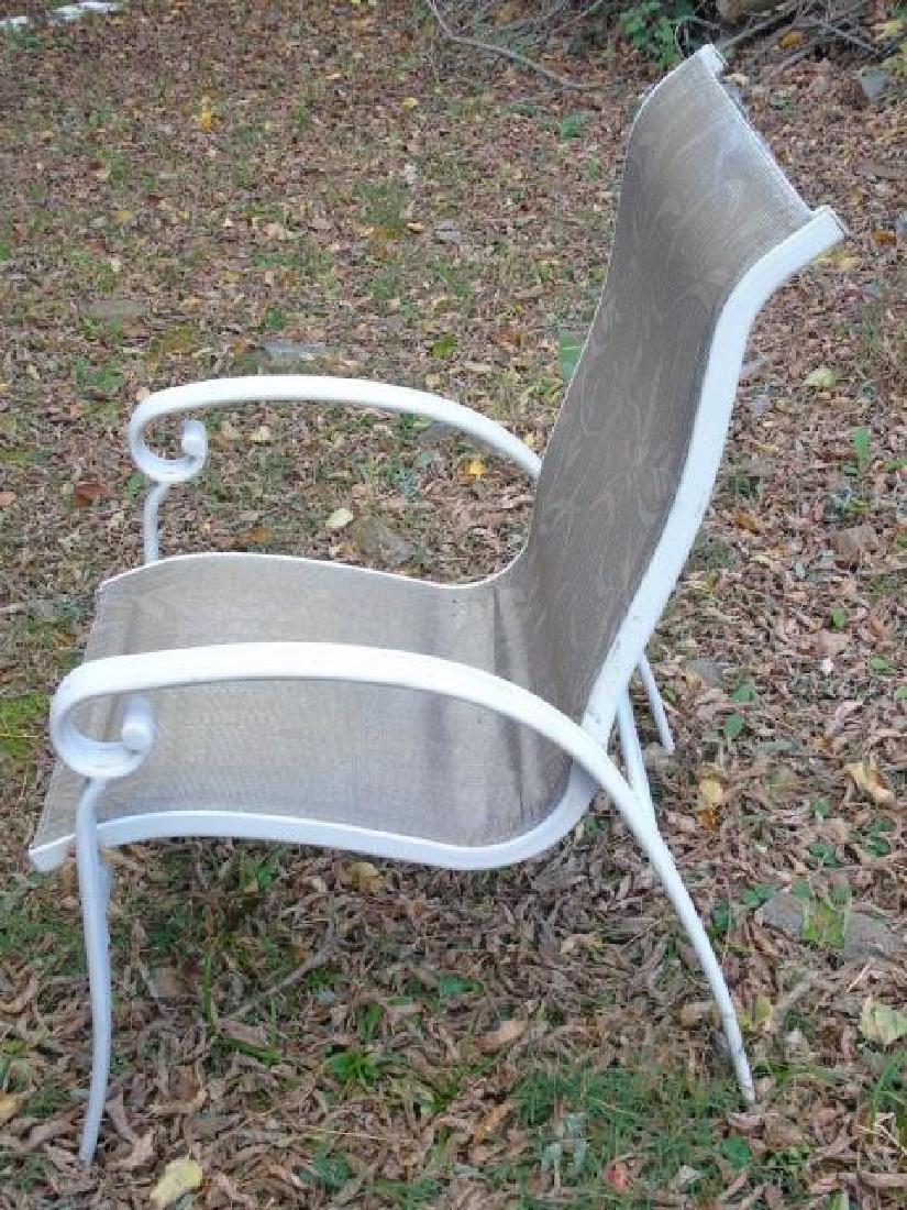 Set of Three Outdoor / Patio / Garden Armchairs - 2