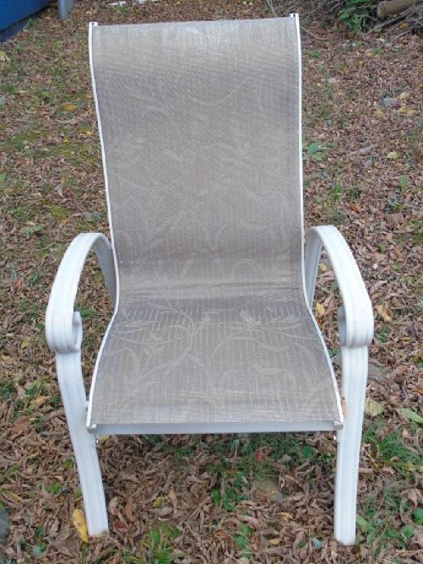 Set of Three Outdoor / Patio / Garden Armchairs - 5