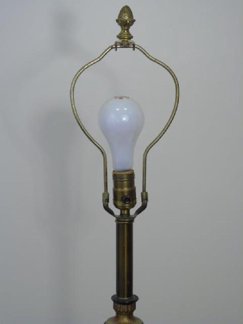 Mid Century Mixed Metals Table Lamp - 3