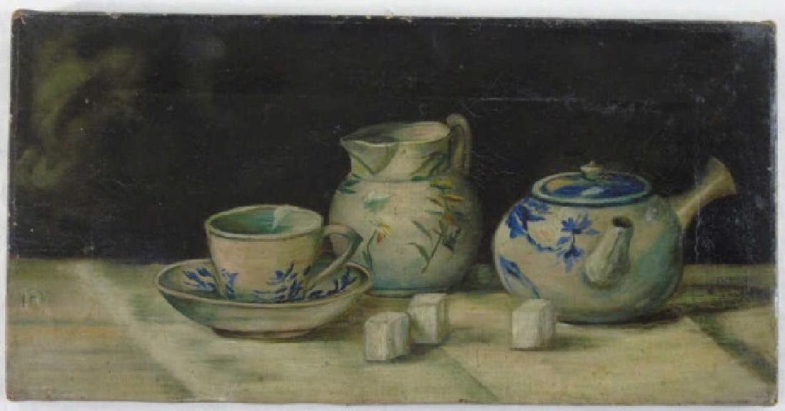 Mary Louise McConnico 1921 Still Life Blue & White