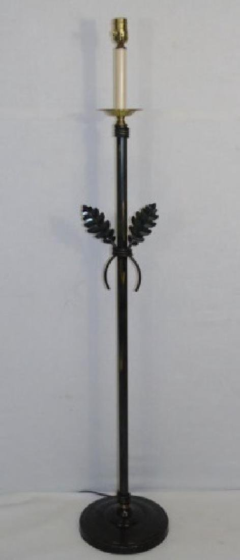Oil Rubbed Bronze Contemporary Floor Lamp