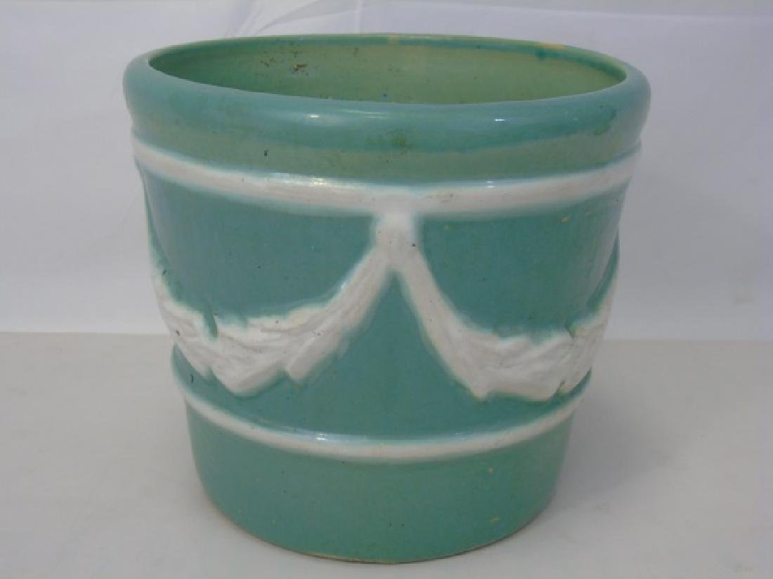 Vintage Neo Classical Style Porcelain Planter Pot