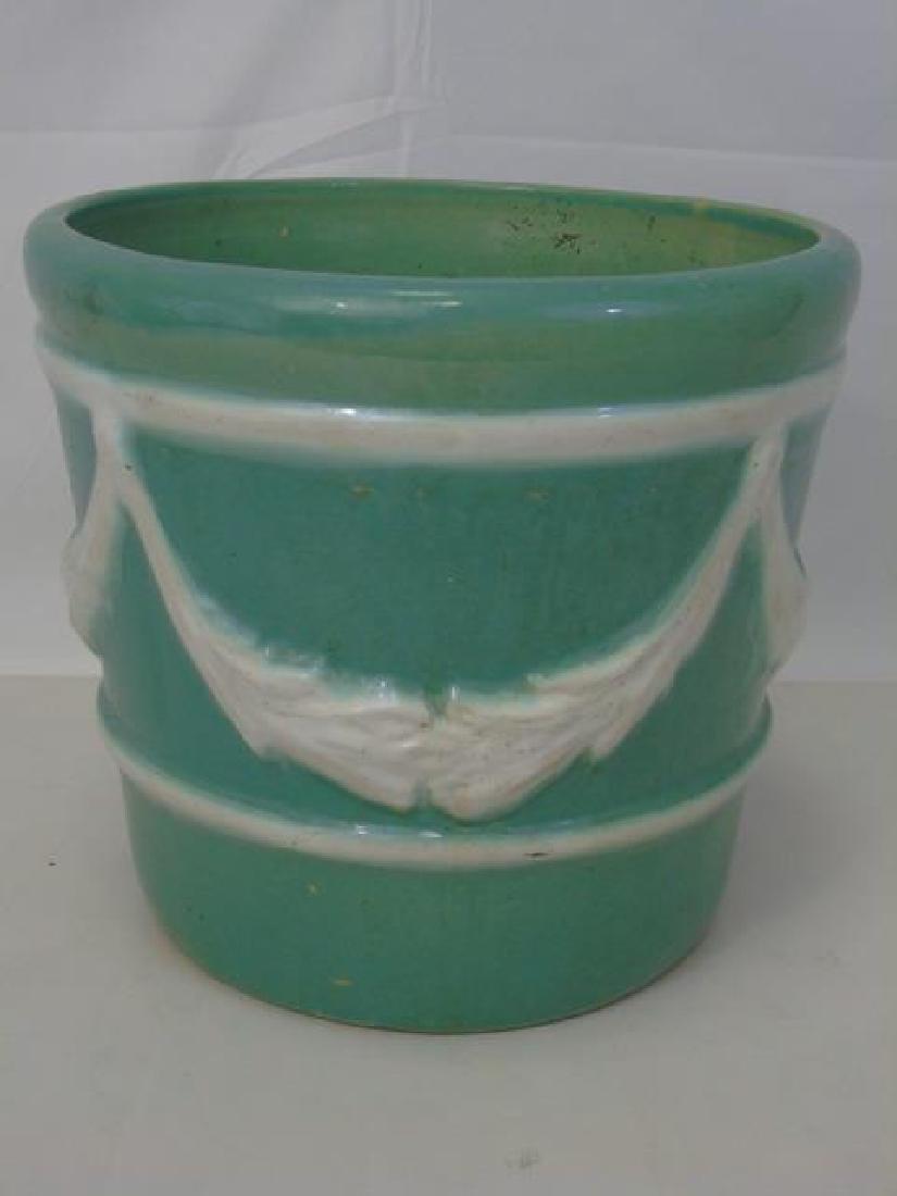 Vintage Neo Classical Style Porcelain Planter Pot - 3