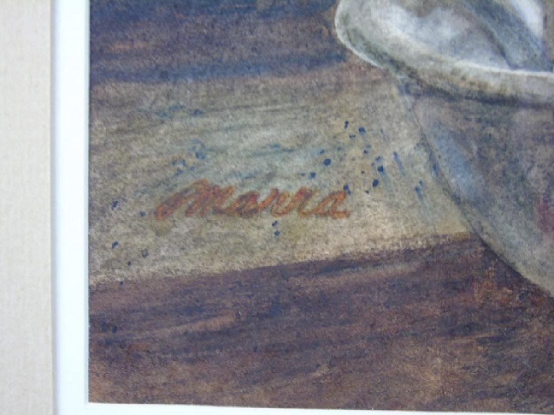 Interior of a Room w/ Pitcher Signed Maria - 2