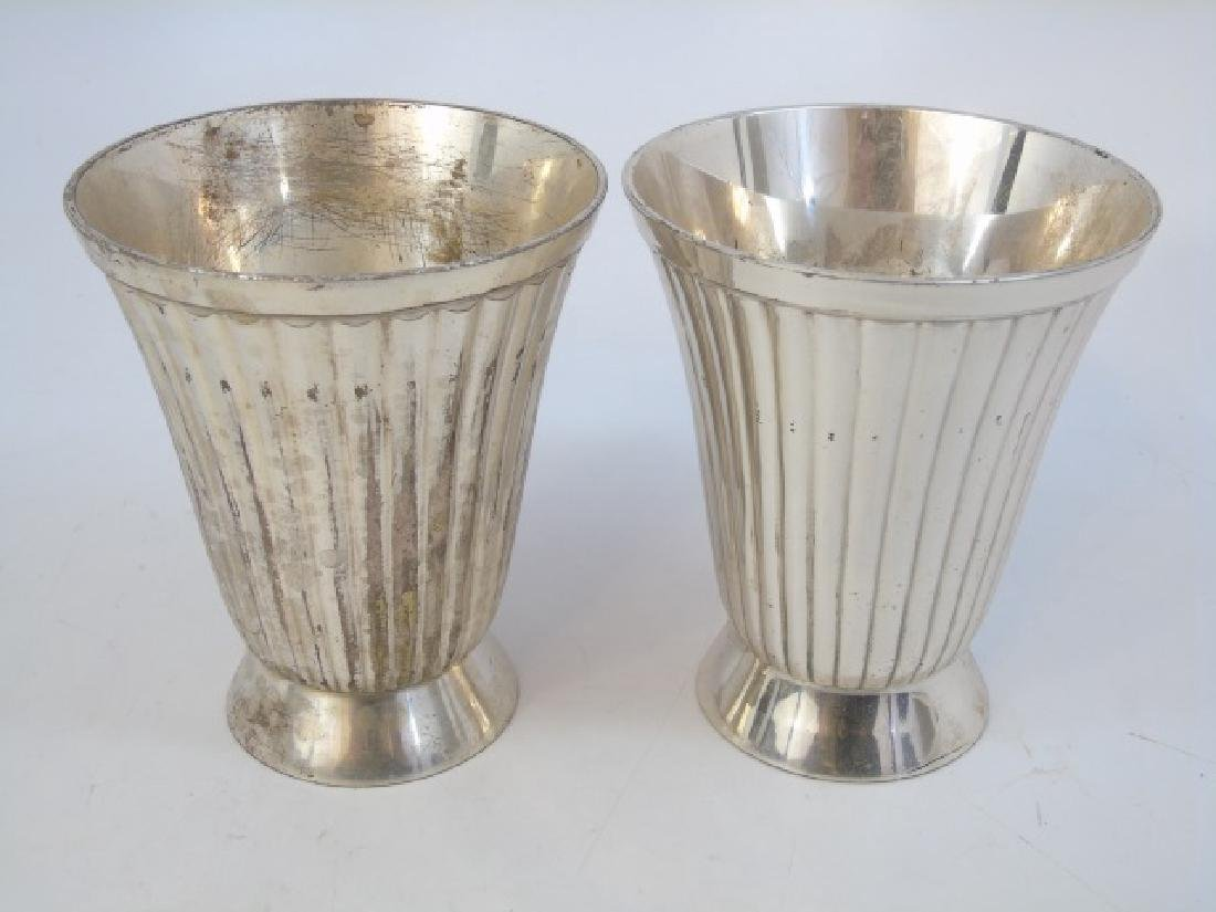 Sterling Silver & Silverplate Table Items Lighter - 2