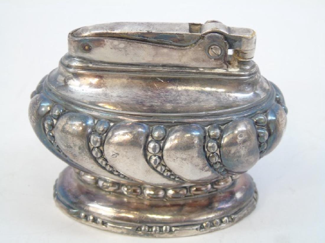 Sterling Silver & Silverplate Table Items Lighter - 3