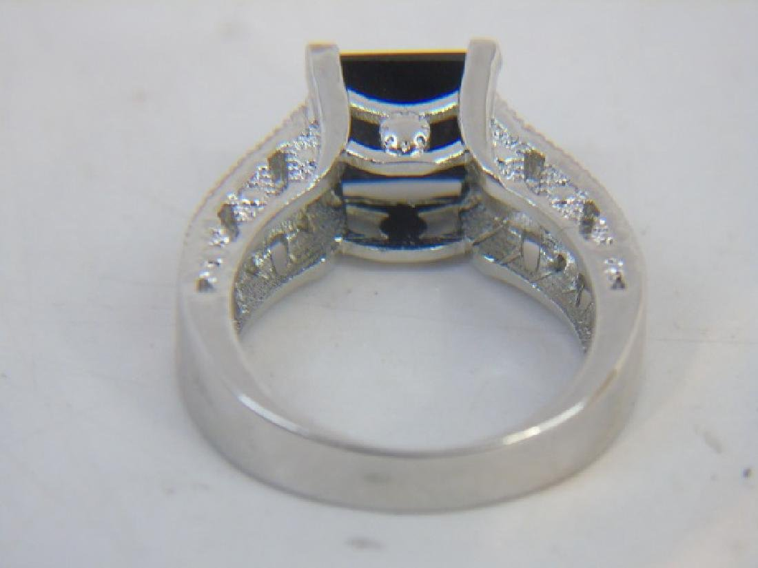 Sterling Silver Engagement Ring & Band Pairing - 5