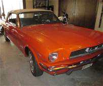 966 Ford Mustang Convertible