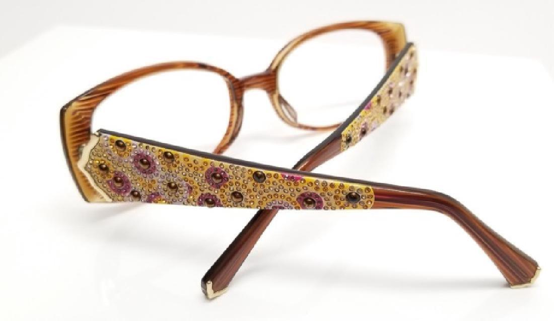 Vintage Judith Leiber Jeweled Glasses Frames