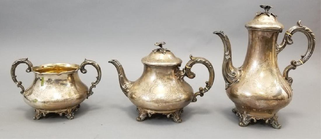 Antique English Sterling Silver Coffee / Tea Set