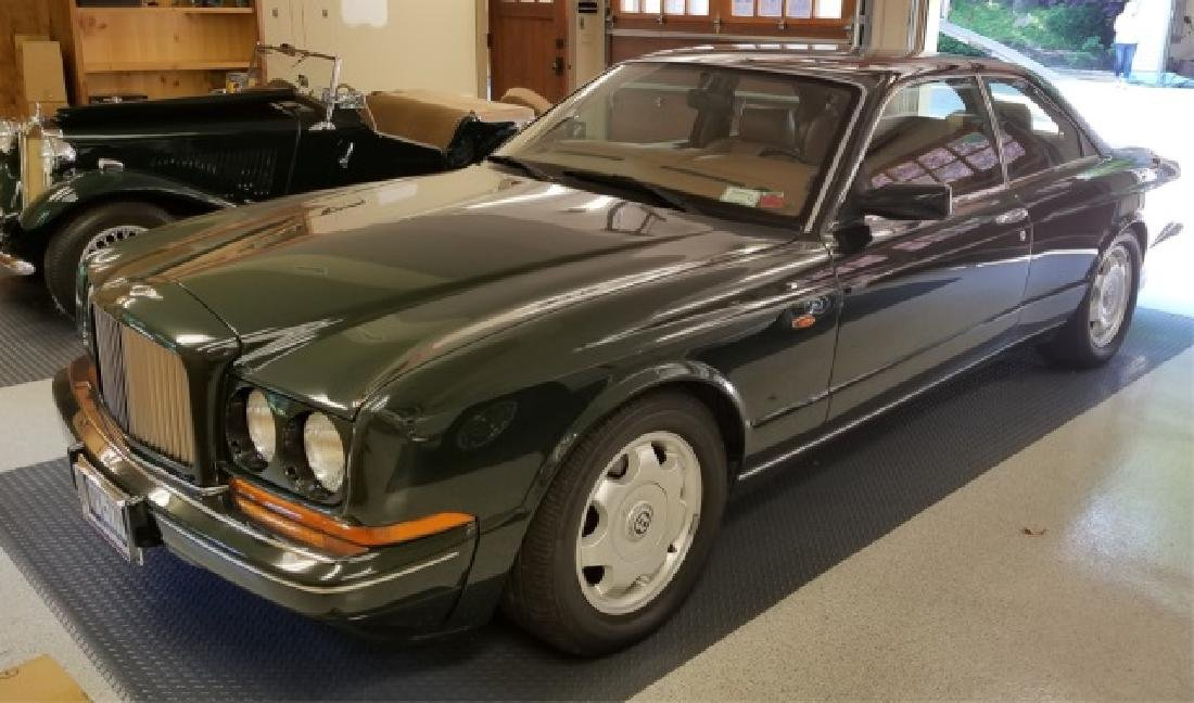 1993 Bentley Continental R Green Coupe