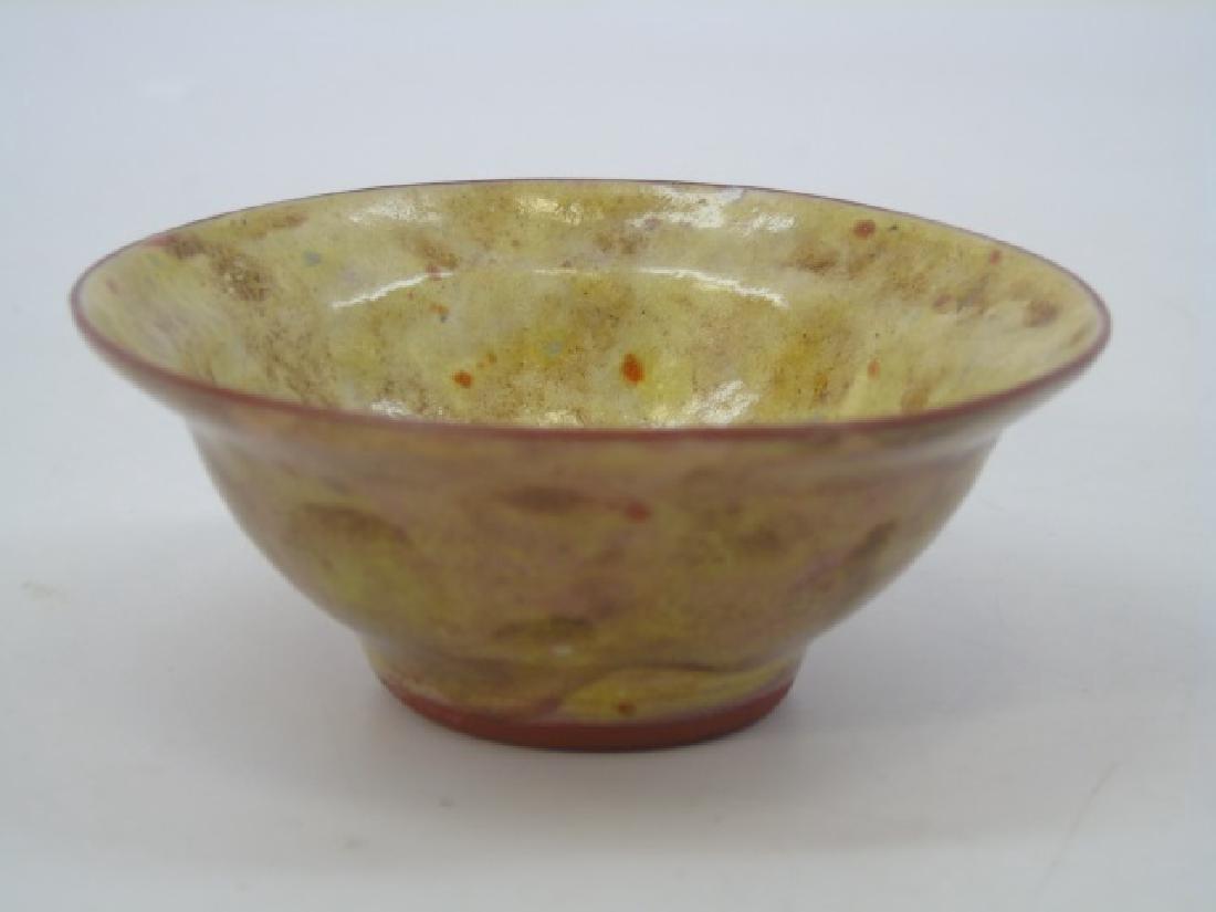 Gertrud & Otto Natzler Studio Pottery Bowl