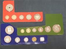 Franklin Mint Proof Sets Guyana Phillipines Papua