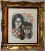 Sandu Liberman, Signed Artist's Proof Lithograph