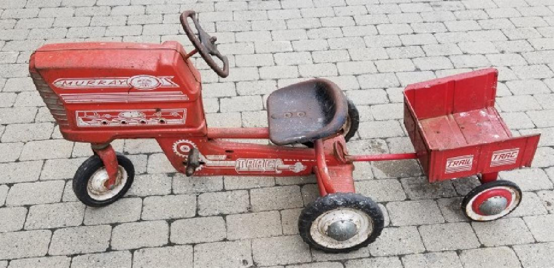 Vintage Murray Trac Ride-On Child's Tractor Toy
