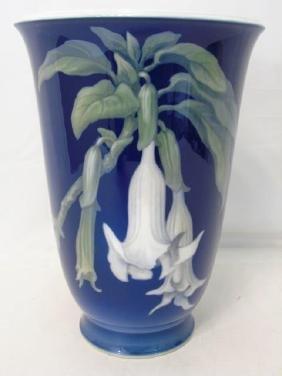 Massive Royal Copenhagen Porcelain Urn Form Vase