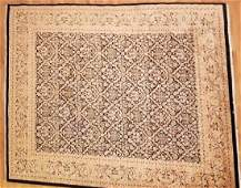 Hand Knotted Wool Silk Persian  Oriental Carpet