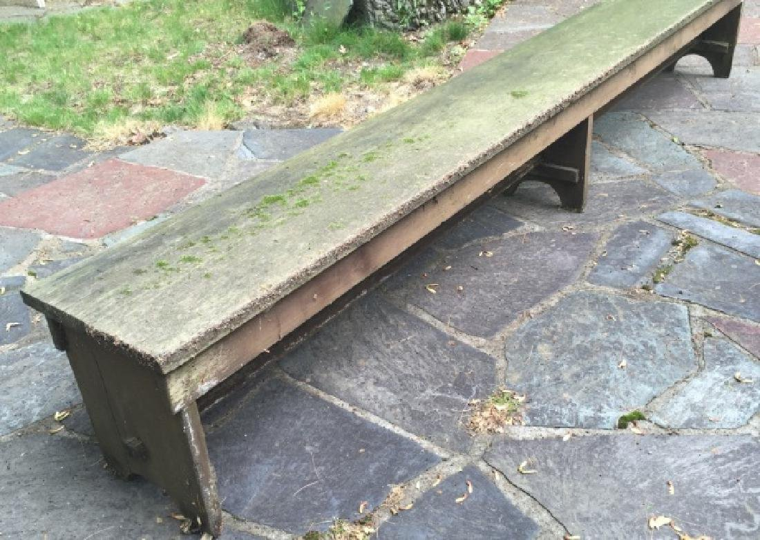 Antique American Handmade Outdoor / Garden Bench