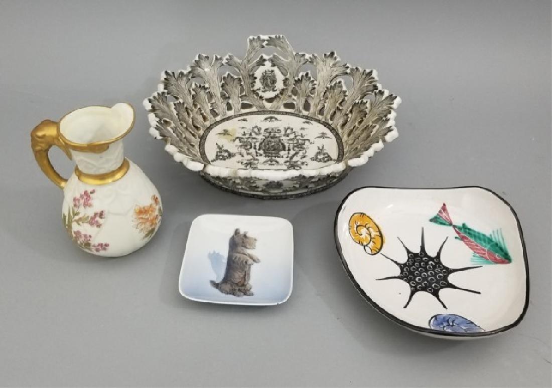 Porcelain & Ceramic Pieces, Incl Royal Copenhagen