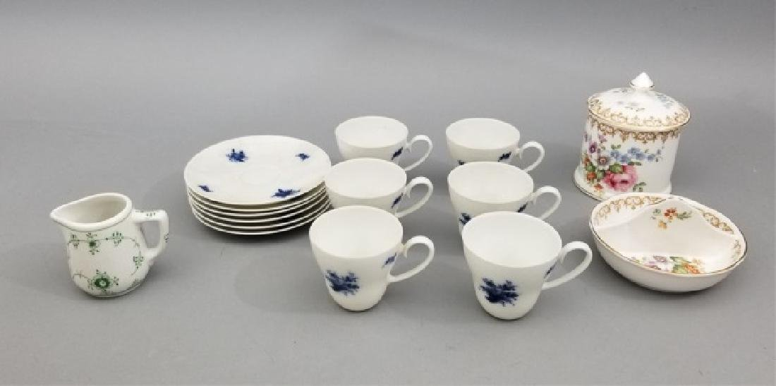 Porcelain Pieces Incl Staffordshire & Rosenthal