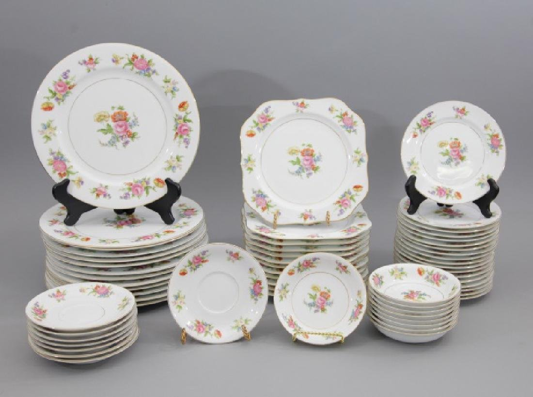 Service of Noritake Phyllis China Incl 43 Plates