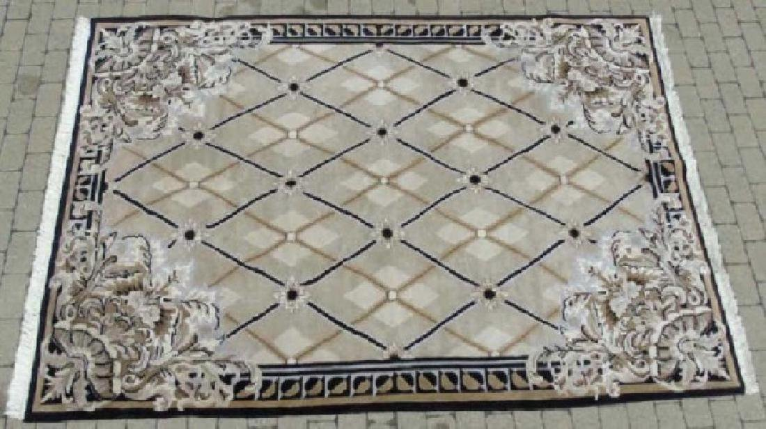 Contemporary French Aubusson Style Carpet