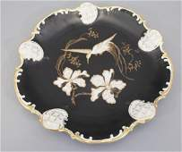 Vintage Rosenthal Hand Painted Platter w Orchids
