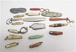 Antique  Vintage Advertising Pocket Knives