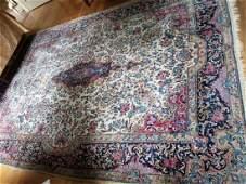 Antique Oriental / Persian Style Wool Carpet