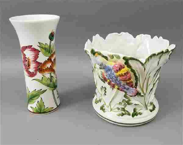 Pair of Tiffany & Co. Italian Ceramic Pieces