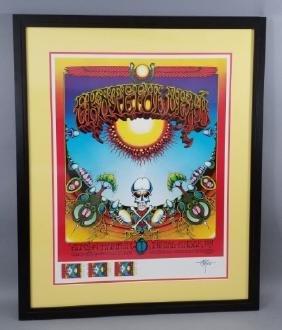 Grateful Dead 1968 Concert Poster -avalon Ballroom