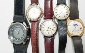 Tag Heuer Professional 200 Meters Watch & 4 Others