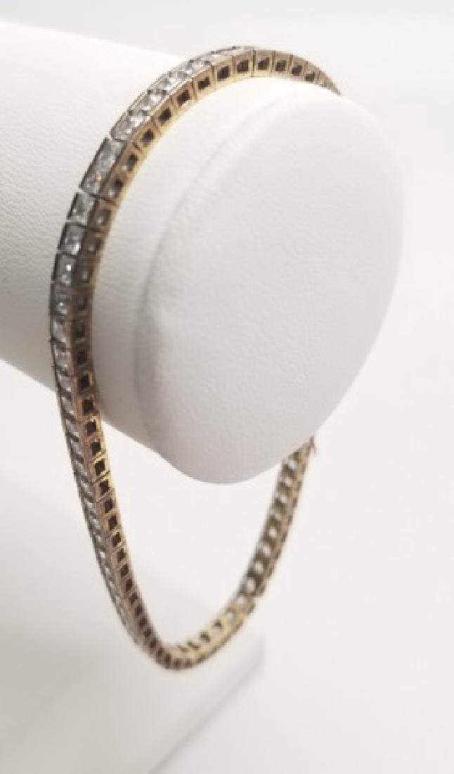 Sterling Silver & CZ Tennis Bracelet